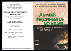 For the ultimate reference in poisonous animals in Brasil one should check Dr. João Luis Cardoso's book. I wrote about Lachesis bites in it, and in the Chicago Herpetological Society Bull (check links and downloads). The scratched finger is a dry bite. Even with close to no inoculation Lachesis bites may lead to death in one hour, or in 10 days (check the bleeding brain). The Greek Goddess is to be respected